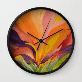 Homage to Georgia O'Keeffe Wall Clock