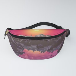 Water On Mars Fanny Pack