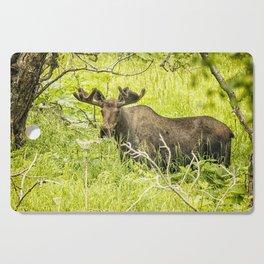 Bull Moose in Kincaid Park, No. 2 Cutting Board