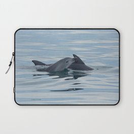 Baby Bottlenose Dolphin Laptop Sleeve