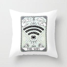The Wifi Throw Pillow