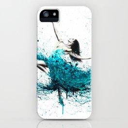 Teal Dancer iPhone Case