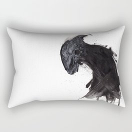 Guardian Of The Mist Wreathed Crags Rectangular Pillow