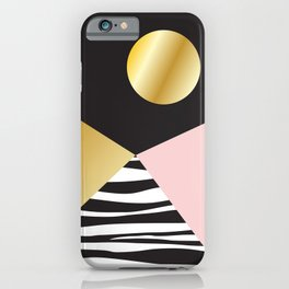 Golden Moon #buyart #society6 #decor iPhone Case