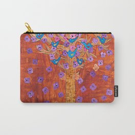 Rust Tree of Life by Gert Mathiesen Carry-All Pouch