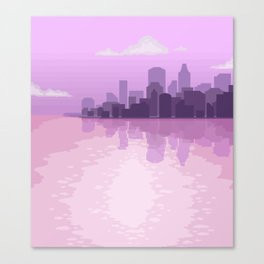 City Reflections Canvas Print