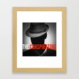The Conspirators Podcast Show Art Framed Art Print