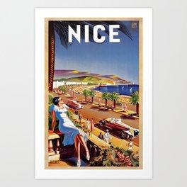 Classic Nice Art Print