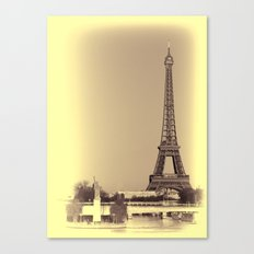 Eiffel Tower Paris Canvas Print