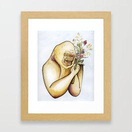 It's Hard To Be Humble When You're a Gorilla Framed Art Print