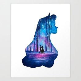 Princess Aurora Sleeping Beauty Art Print