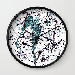 Mint Chocolate Chip Wall Clock