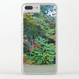 Half of My Heart Clear iPhone Case