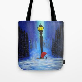 Waiting for Lucy Tote Bag