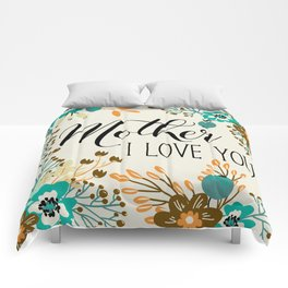 Mother's Day (Mother I Love You) 2 Comforters