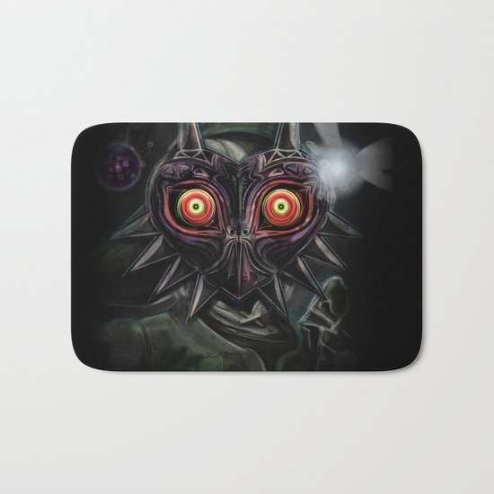 Legend of Zelda Majora's Mask Link Bath Mat