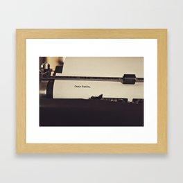 Dear Santa  Framed Art Print