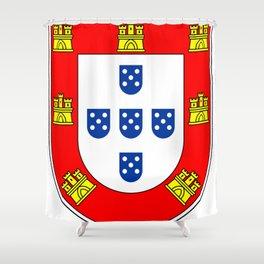 Portuguese escudo Shower Curtain