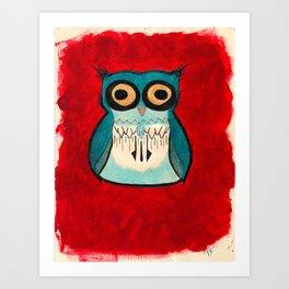 HootHoot Art Print