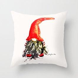 Christmas Swedish Gnome Throw Pillow