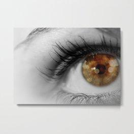 Twinkle In Her Eye Metal Print