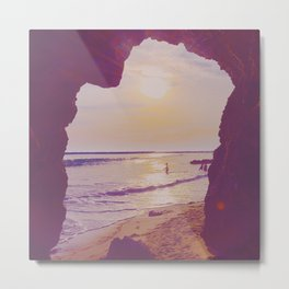 Portal to the Sea Metal Print