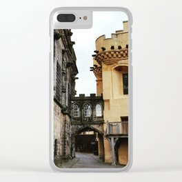 Stirling Castle,Scotland Clear iPhone Case