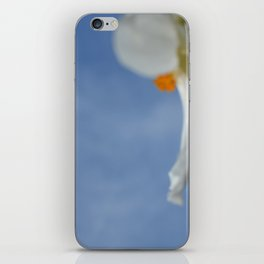 Summer Poppy Blowing in the Wind iPhone Skin