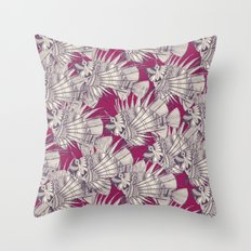 fish mirage berry Throw Pillow