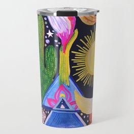 Cactus Sunrise Looking at You Travel Mug
