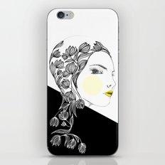 yellow kiss iPhone & iPod Skin