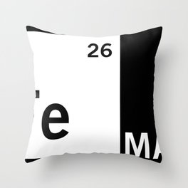 FeMan Throw Pillow
