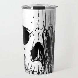Skull (Distortion) Travel Mug