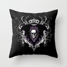Aurelio Voltaire Crest Throw Pillow