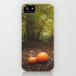 Family Pumpkin iPhone Case