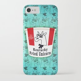 Kentucky Fried Unicorn iPhone Case