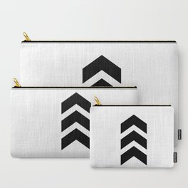 Classic Chevron Arrow Carry-All Pouch
