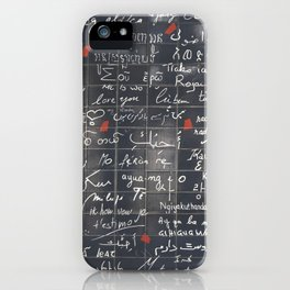The Wall Of Love iPhone Case