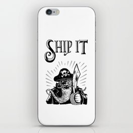 Ship it! iPhone Skin