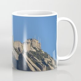 Magical Full Moon above the Castle of the Moors, Portugal Coffee Mug