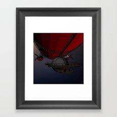 Airship Pioneers Framed Art Print