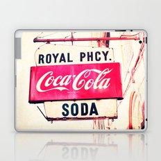 Royal Pharmacy Vintage Sign - New Orleans Laptop & iPad Skin