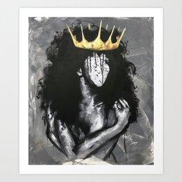 Naturally Queen IV Art Print