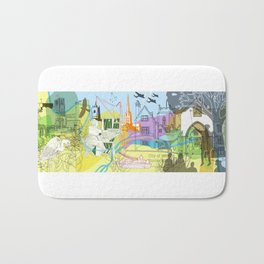 Norwich- City of Stories Bath Mat
