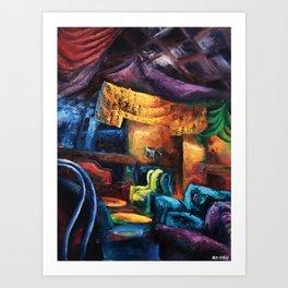"""Opus"" Painting (Reworked, Final Version) Art Print"