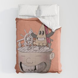 Pie Brains Comforters