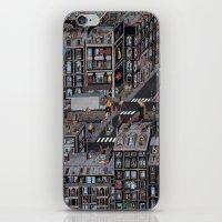 the neighbourhood iPhone & iPod Skins featuring Parisian Neighbourhood by Guillaume Cornet