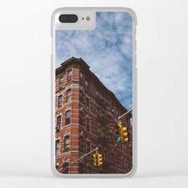 NoLita Architecture II Clear iPhone Case