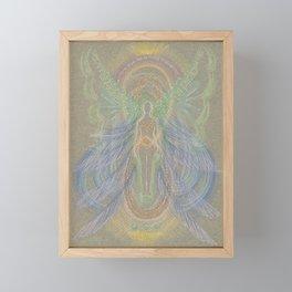 New Beginning Angel Framed Mini Art Print