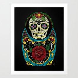 Mexican Matryoshka Art Print